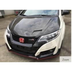 Honda Civic 12/- FK(2) 5drs ( Type-R ) Carbon JC style hood