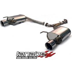 Silencieux inox TANABE pour LExus GS 2005-2011 S19