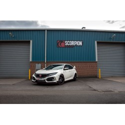 Echappement Scorpion Civic FK8