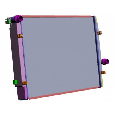 Radiateur CSF plateforme MQB  GTI RS etc