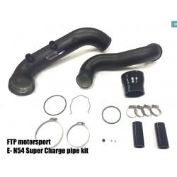 FTP E8X E9X N54 SUPER CHARGE PIPE KIT ( 135I 335I 1M)