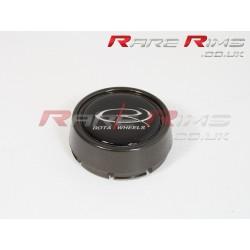 4 Rota caps medium GunMetal