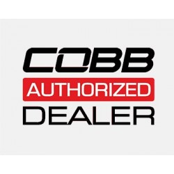 Cobb Ford Mustang Shift Knob - White Knob w/ Stealth Black