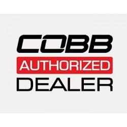 Cobb Volkswagen COBB Knob - White Knob w/ Race Red