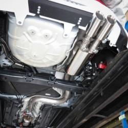 Echappement Cobra 3 pouces Fiesta mk8