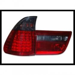 Feux Arri�res BMW X5 00-03  Led Rouge Fum�
