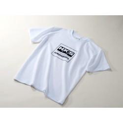 T-shirt HKS Power & Sport blanc