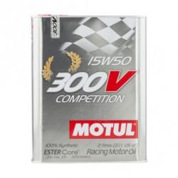 Huile Motul 300V Compétition 15W50 (2L)