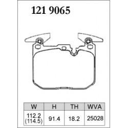 plaquettes avant Dixcel M 35/40i et M perf
