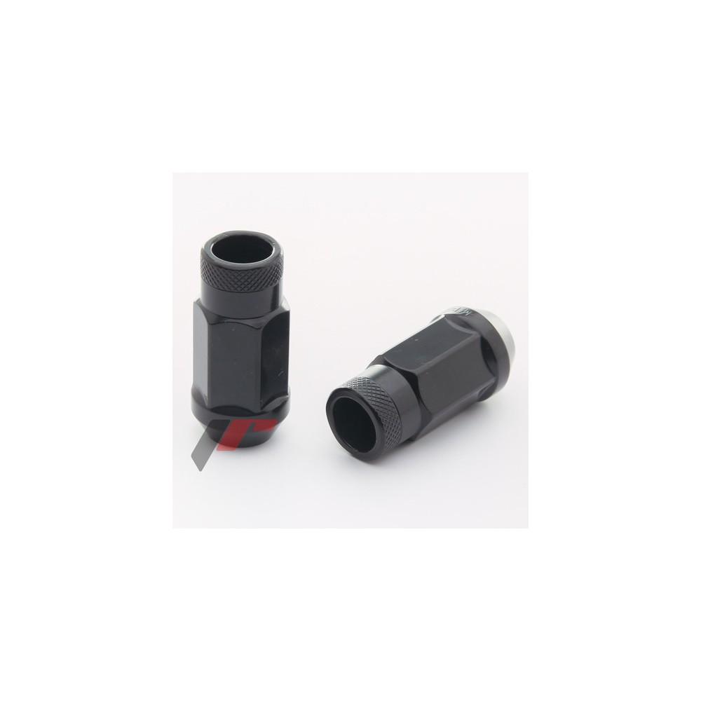 20 ecrous noir M12x1.5