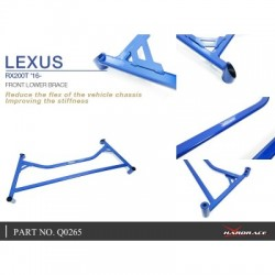 LEXUS RX200T '16- FRONT LOWER BRACE - 1PCS/SET