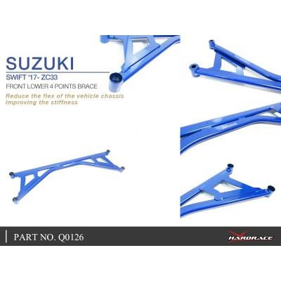 SUZUKI SWIFT '17- ZC33 FRONT LOWER 4 POINTS BRACE - 1PCS/SET