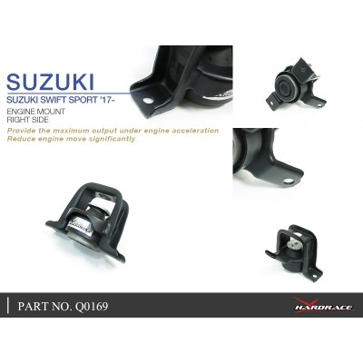 SUZUKI SWIFT SPORT '17- ENGINE MOUNT, RH - 1PCS/SET