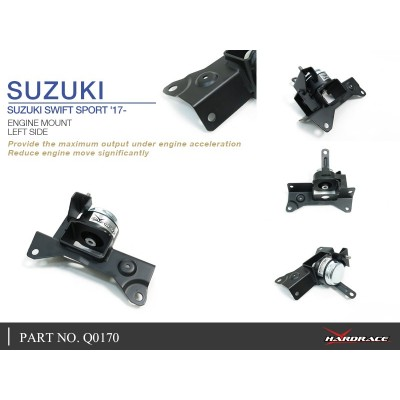 SUZUKI SWIFT SPORT '17- ENGINE MOUNT, LH - 1PCS/SET