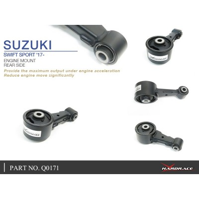 SUZUKI SWIFT SPORT '17- ENGINE MOUNT, REAR - 1PCS/SET