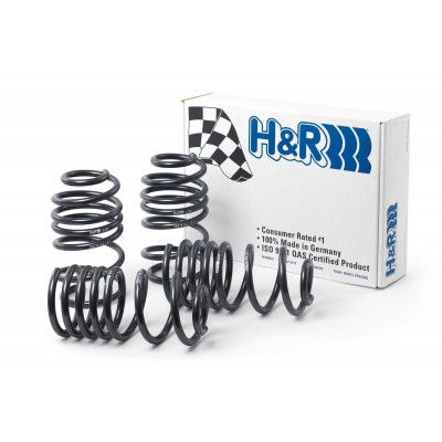 H&R Springs ressorts courts for Yaris GR